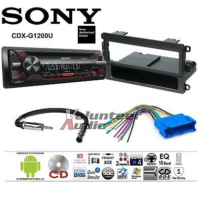 sony 16 pin car stereo radio replacement wire harness for. Black Bedroom Furniture Sets. Home Design Ideas