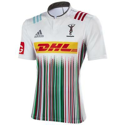 adidas Men's Harlequins 2016 Away Rugby Union Jersey Sport Casual Fashion Fan