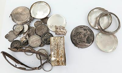 Invest In .925 & .900 Scrap Silver !!!! Total Of 230 Grams.