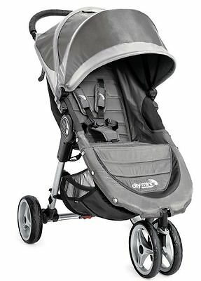 Baby Jogger City Mini Compact Lightweight 3-wheel Stroller Steel Gray NEW 2016