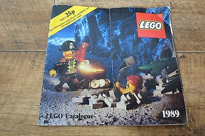 Lego Catalogue 1989 Brochure Magazine FREE FAST POST Lots Of Pictures