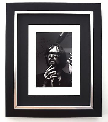 Jarvis Cocker SIGNED 10X8 FRAMED Photo Autograph Display Music Pulp AFTAL & COA