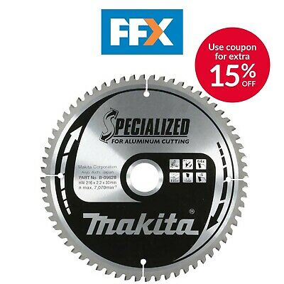 Makita B-09684 305mm x 30mm x 100T Specialized Aluminium Saw Blade