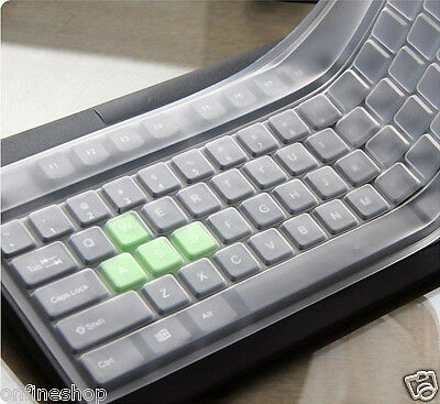 New 1PC Universal Silicone Desktop Computer Keyboard Cover Skin Protector Film