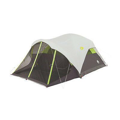 Coleman Steel Creek Fast Pitch 6-Person Dome Tent with Screen Room | 2000018059