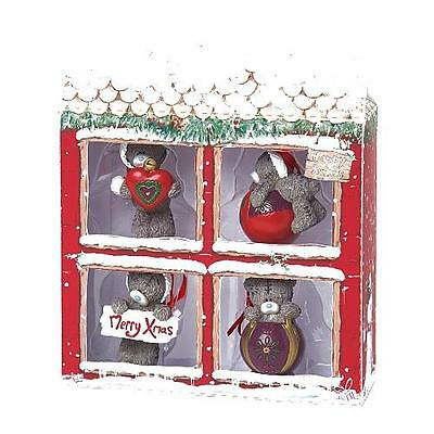 Me To You Set Of Four Resin Christmas Tree Decorations G01R0507