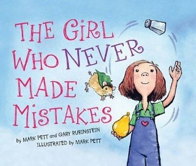 The Girl Who Never Made Mistakes New Hardcover Book Mark Pett, Gary Rubinstein
