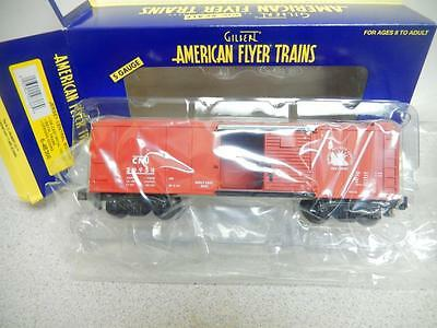 American Flyer By Lionel- 48366- Central New Jersey Boxcar- S Gauge-- New-