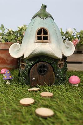 Magical Fairy Flower Welcome Garden House-Cottage Ornament  Fo_58935