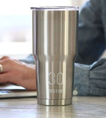 Takeya Thermo Tumbler Double Wall Vacuum Insulated Stainless Steel 30 oz