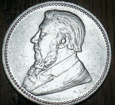 1897 South Africa SILVER 6 Pence - HIGH QUALITY - Very Nice LOOK