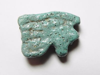 Zurqieh- Af727- Ancient Egypt, Faience Eye Of Horus. 600 - 300 B.c