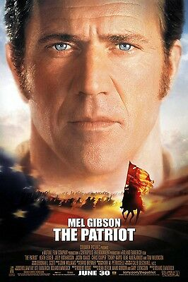 "PATRIOT 2000 Original DS 2 Sided 27x40"" US Movie Poster Mel Gibson Heath Ledger"