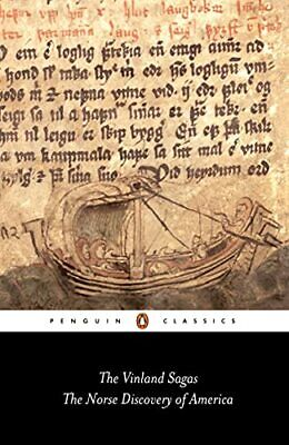 """The Vinland Sagas: The Norse Discovery of America: """"Graenlendinga S... Paperback"""