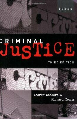 Criminal Justice by Young, Richard Hardback Book The Cheap Fast Free Post