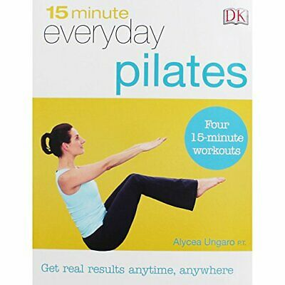 15 Minute Everyday Pilates Book The Cheap Fast Free Post