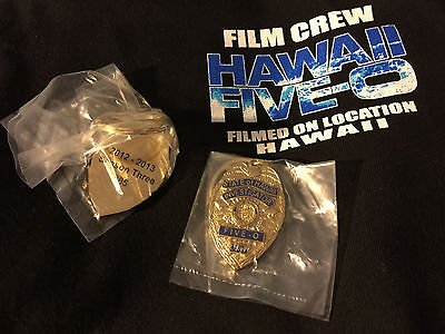 OOP SEASON 3 HAWAII FIVE-O 5-0 MINI REPLICA BADGE KEYCHAIN FOB~Alex O'Loughlin 7