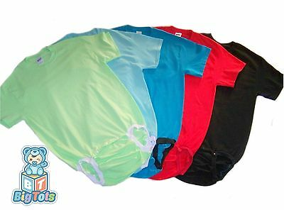 Adult Baby WEAR2WORK bodysuit  5*NEW*Colors  *Big Tots by MsL