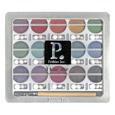 I Kan'dee Chalk Set-Pearlescent Jewel Tones