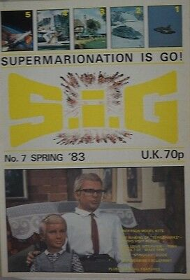 S.I.G Supermarionation is Go Magazine Thunderbirds - no 7 - Spring 1983