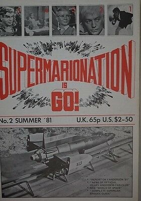 S.I.G Supermarionation is Go Magazine Thunderbirds - no 2 - Summer 1981