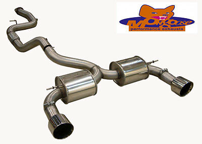 Mongoose Section 59 Catback Exhaust System - Ford Focus RS MK2