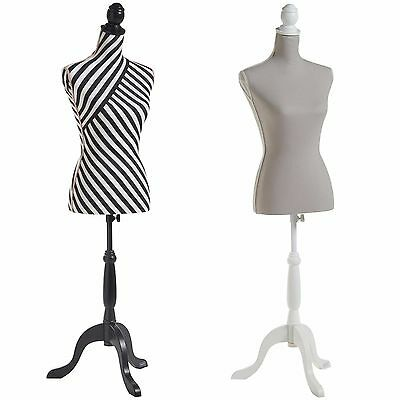 Beautify Female Dressmaker Tailor Dummy Bust Stand Fashion Mannequin Size 8/10