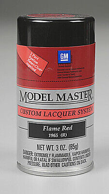 Testors Flame Red 3oz Lacquer Spray Paint 28110 Tes28110 6 99