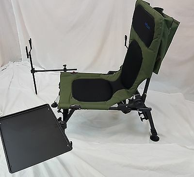 Bison Delux Carp Chair Fishing Station, Rod Pod, Bivvy Table, Bank Sticks, Etc