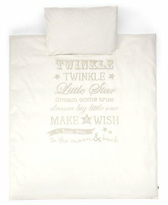 Mamas and Papas Millie and Boris Cot Bed/Cot Duvet Cover and Pillow Case