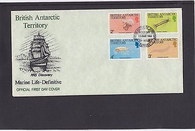 BAT 1984 Definitives Marine Life seal fish First Day Cover FDC