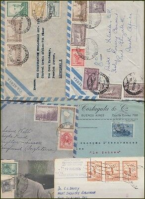 ARGENTINA COVERS & CARDS (x6) (ID:531/D42155)