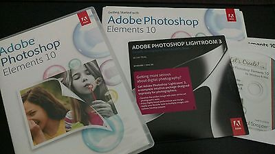 Adobe Photoshop Elements 10 for PC Mac Photo Software Program Discs computer