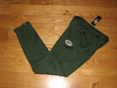 NEW Boys Green Bay Packers Youth Size L 14-16 Large Sweats Athletic Pants Green