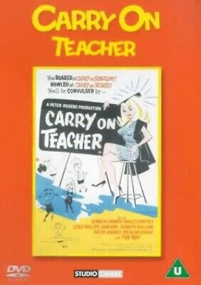 Carry On Teacher [DVD] - DVD  JIVG The Cheap Fast Free Post
