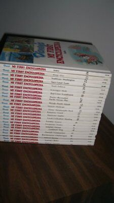 Disney's My First Encyclopedia (24 Volume Set) Book The Cheap Fast Free Post