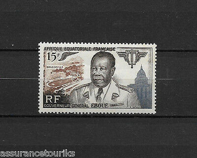 Aef Poste Aérienne - 1955 Yt 61 - Timbre Neuf** Mnh Luxe