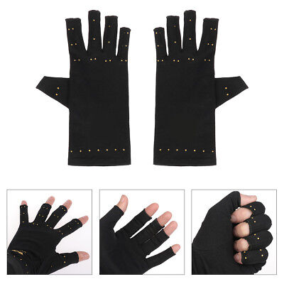 Men Women Copper Arthritis Gloves Compression Therapy Rheumatoid Pain Relief New