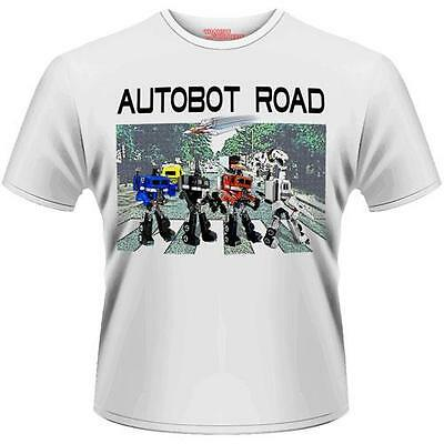 Transformers - Autobot Road Mens Cotton T-Shirt - New & Official Hasbro