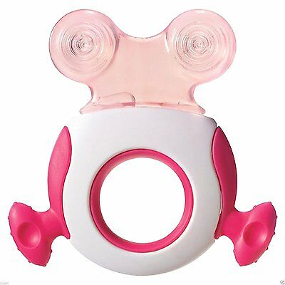 Tommee Tippee Baby Closer to Nature Teether Soother Stage 1 & 2 Blue or Pink