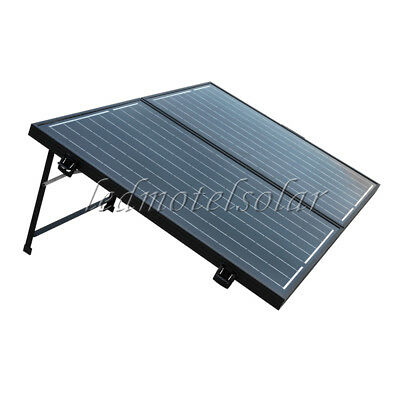 100W Suitcase Foldable Solar Panel 12V Battery Charger Portable Car Boat Camping