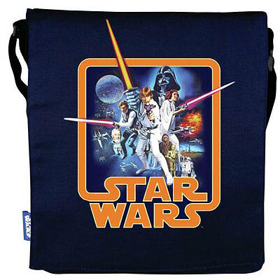 Star Wars - A New Hope Canvas Folder Bag - New & Official Lucasfilm Ltd/ Disney