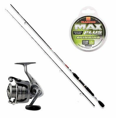 KP2074 Kit Spinning Trout Area Canna Forward II 0-8 Gr + Mulinello Crossfir RN