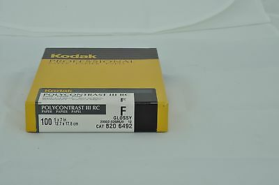 5x7 KODAK POLYCONTRAST GLOSSY 100 SHEETS SEALED