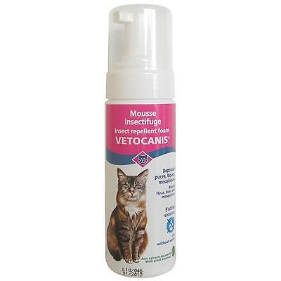 VETOCANIS Mousse insectifuge - Pour chat