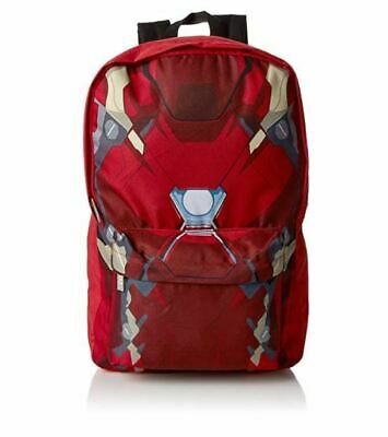 Marvel Iron Man Civil War Torso Backpack Rucksack School Bag New