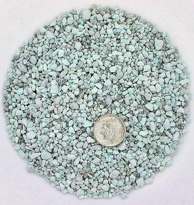 1/2 Ounce Natural Sonoran Green Blue Turquoise Pyrite Craft Inlay Pieces Powder