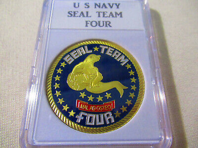 US NAVY SEAL TEAM FOUR Challenge Coin