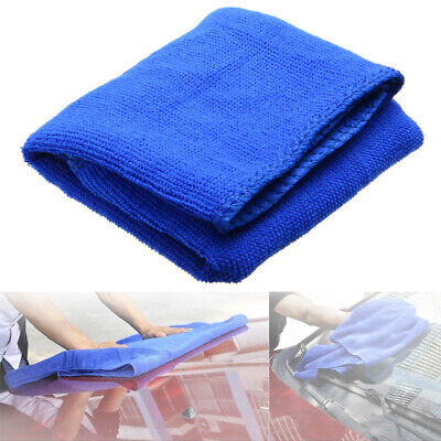New Blue Microfibre Cleaning Auto Car Soft Cloths Wash Towel Duster 30*70CM