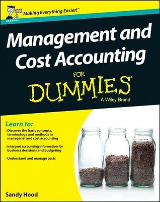 Management and Cost Accounting For Dummies (Paperback), Holtzman,. 9781118650493